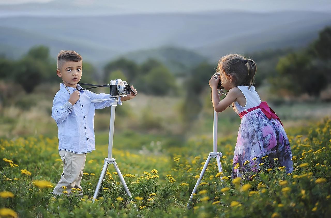 Jarní fotografování s překvapením pro maminky