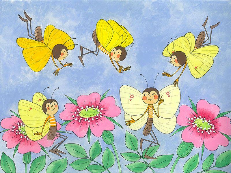 Motýlci-měsíční program na květen
